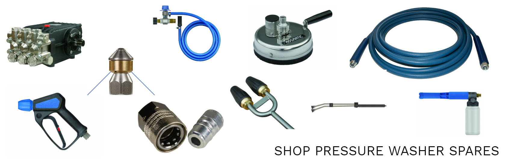 Pressure washer spares